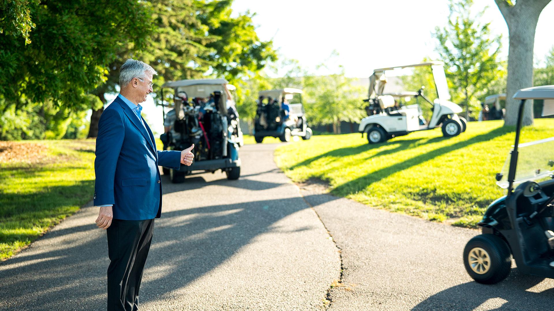 BBCC Golf Hubert